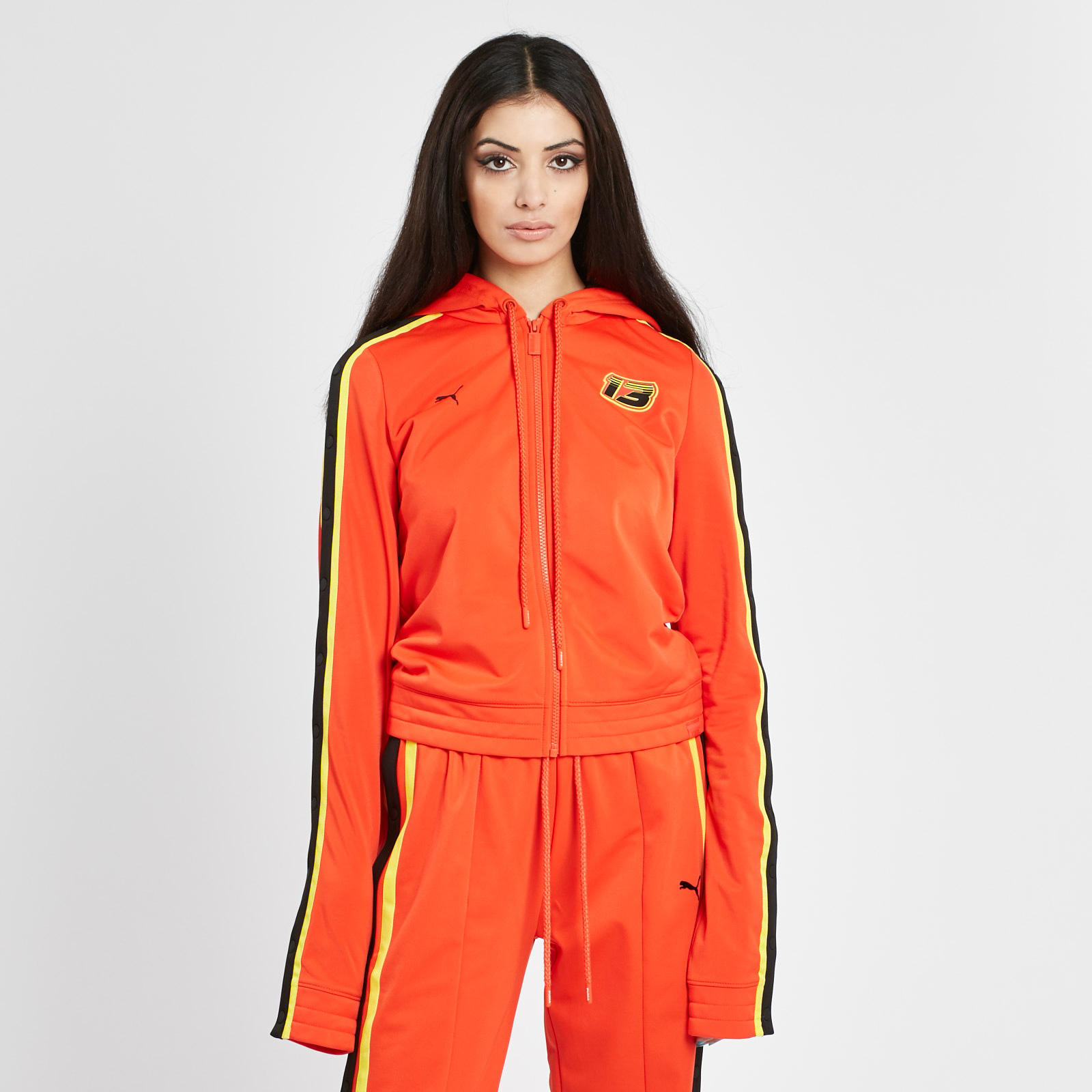 Fitted Tearaway track jacket - Red Fenty Puma by Rihanna Discount New Styles With Mastercard Online Cheap Sale Popular Shopping Online Cheap Price Free Shipping Professional kWUf1gDtZV
