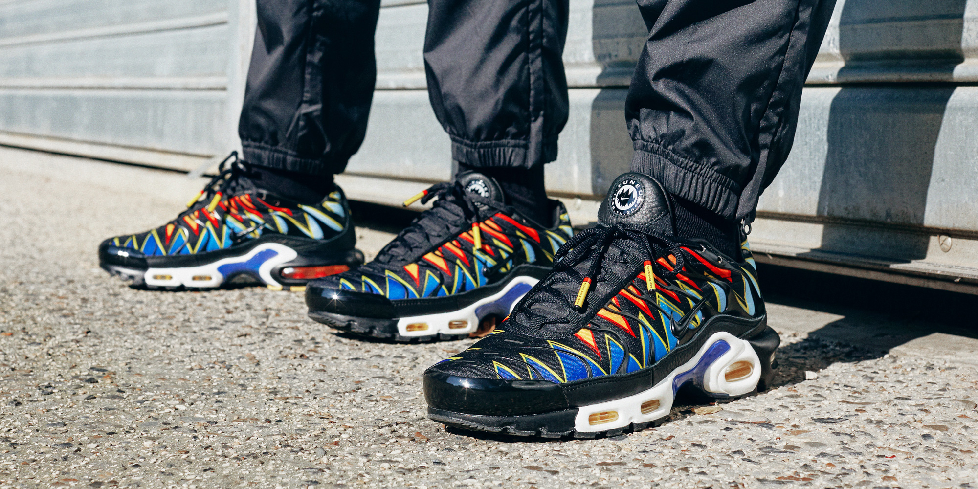 Sneakersnstuff worked with Nike and up and coming Paris artists Flyest Shot and Lean Chihiro to capture the Nike Air Max Plus (France Exclusive) in Paris.