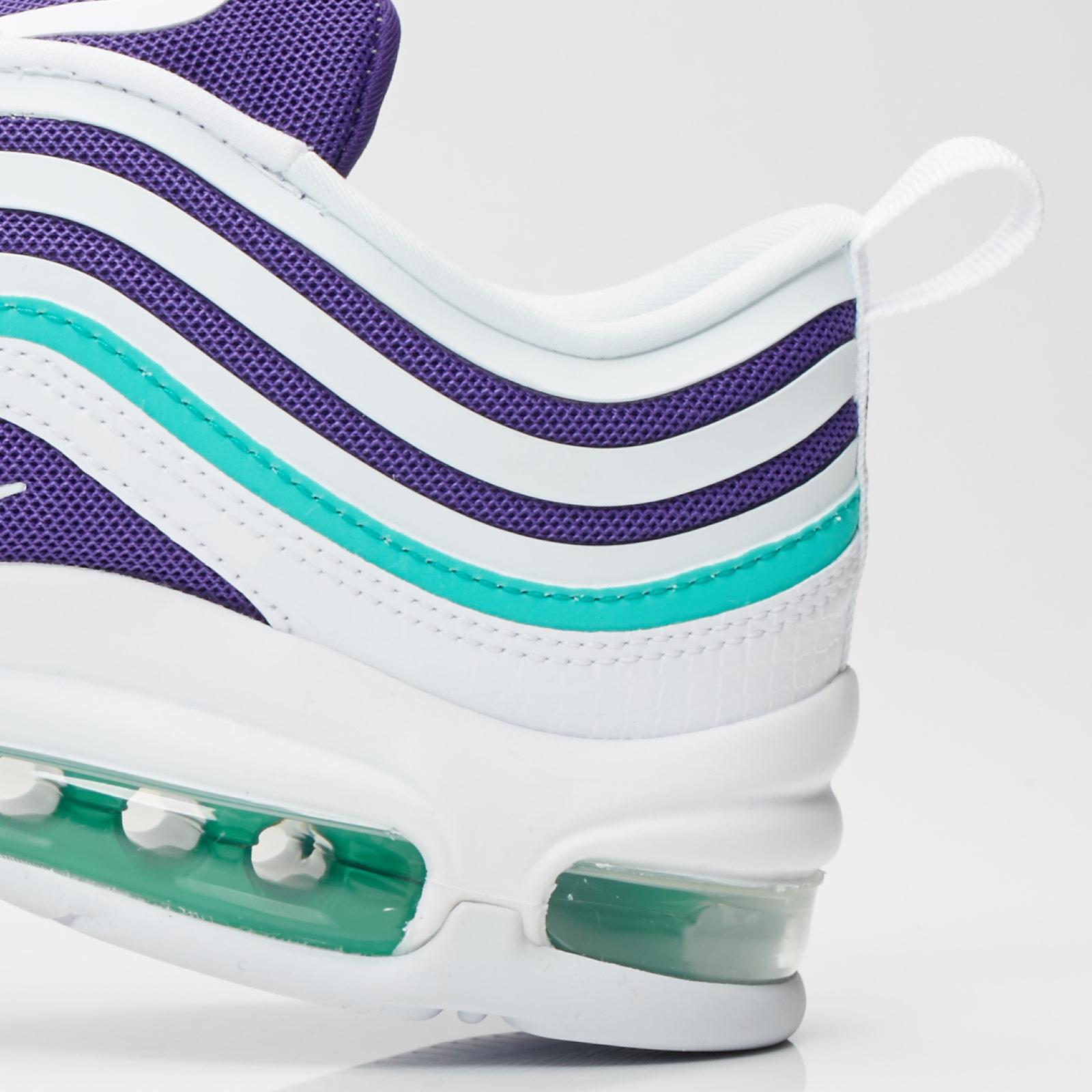 Nike Women's Air Max 97 UL '17 SE White Court Purple Green