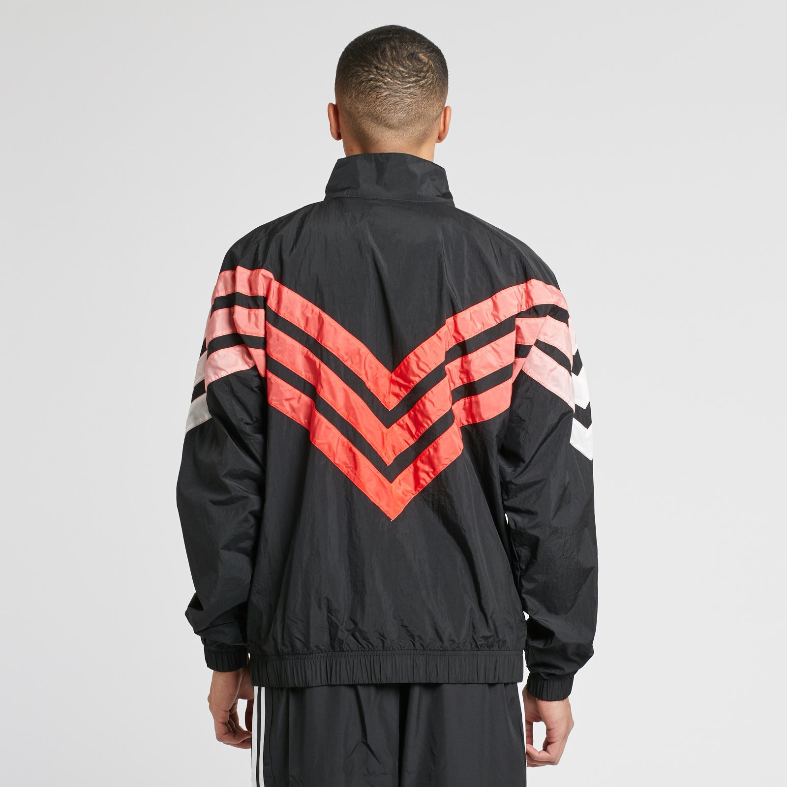 adidas Originals Zip Crew Tironti BlackGrey ThreeHI res Red