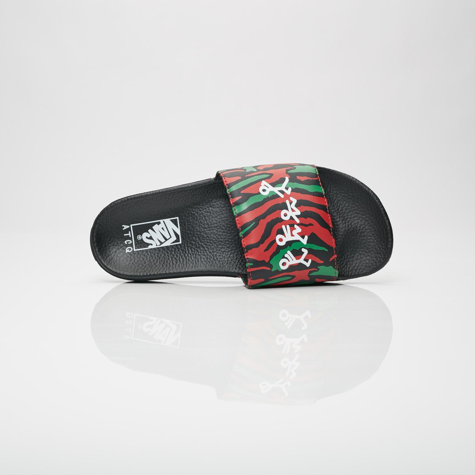 Vans MN Slide-On x ATCQ - Va33tyq4b - Sneakersnstuff  3b5852638