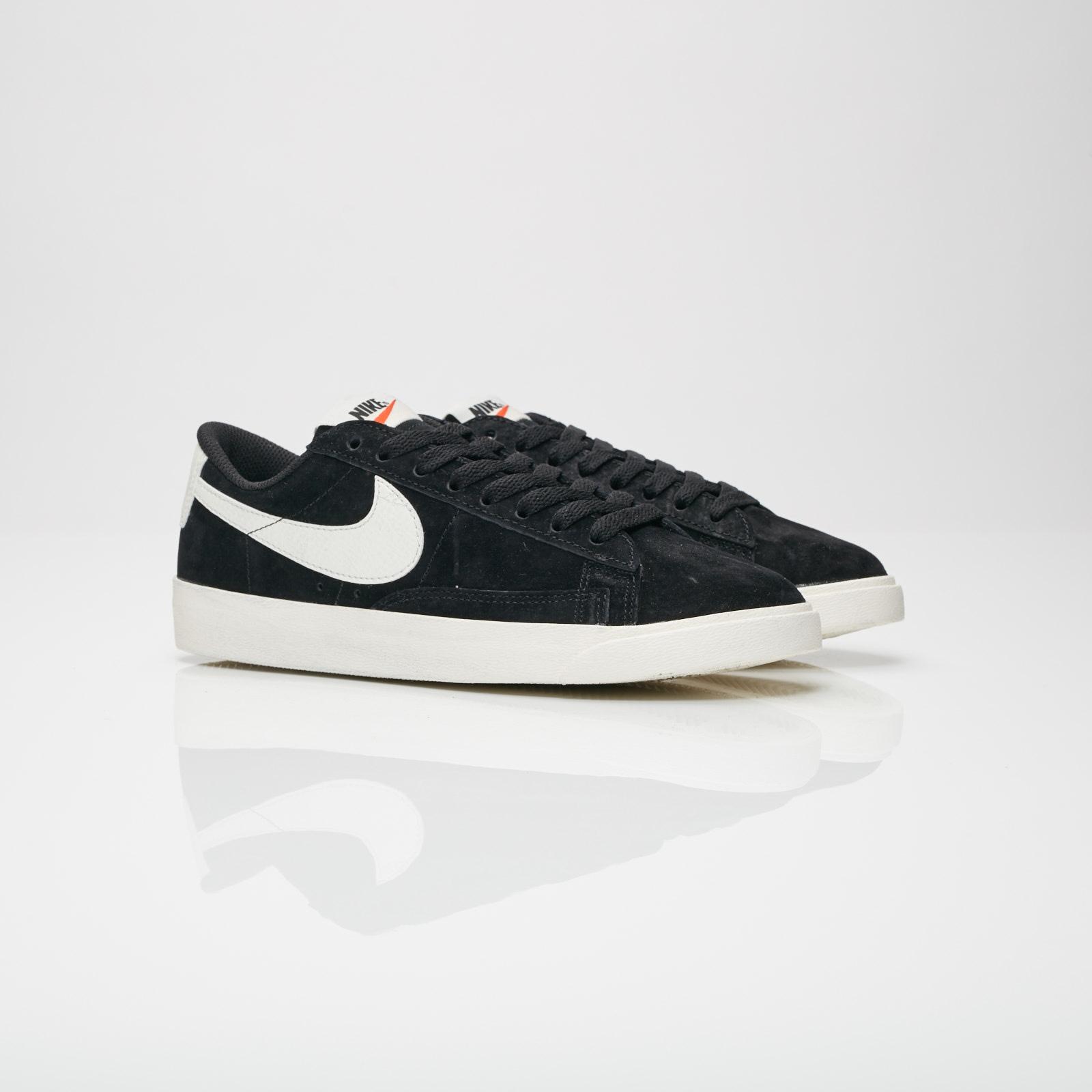 Nike Sportswear BLAZER LOW SD - Trainers - black/sail