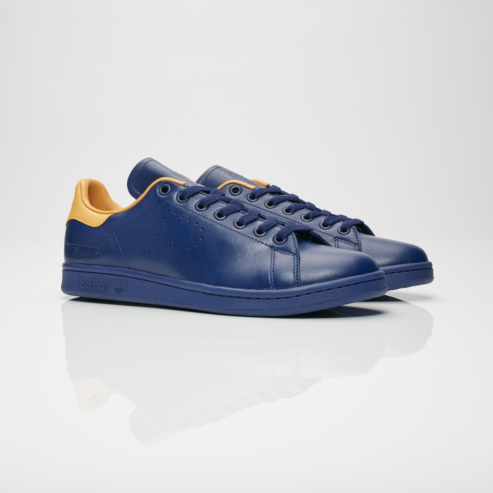 best service 5db3a 1ebb9 adidas stan smith blue orange adidas Raf Simons Stan Smith - B41811 -  Sneakersnstuff   sneakers .