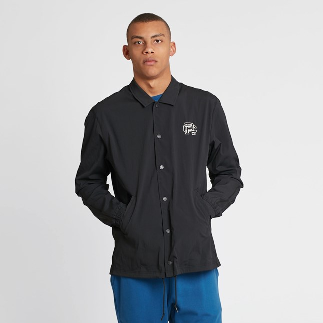 Reigning Champ Coachs Jacket - Stretch Nylon