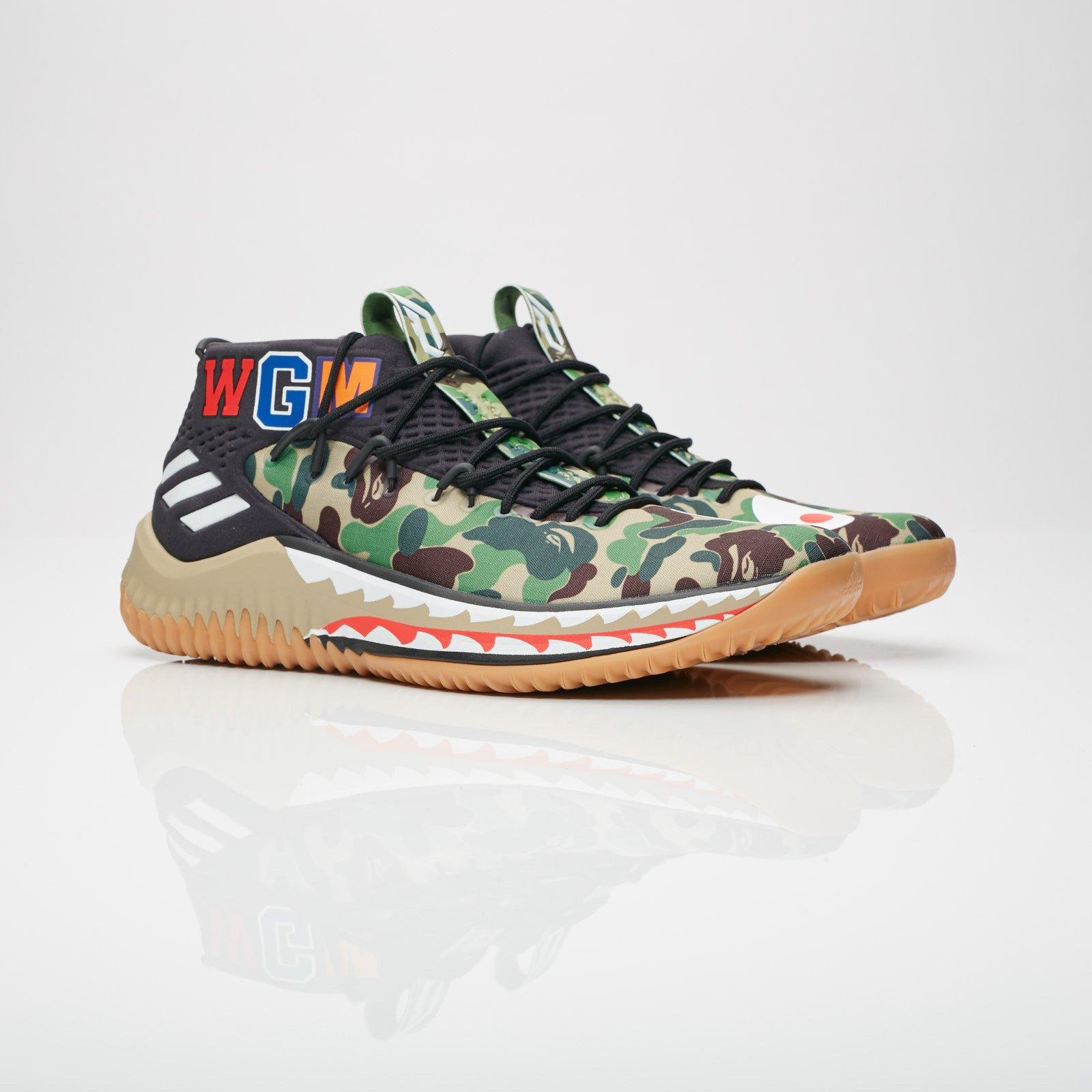 923fa70b503b adidas Dame 4 BAPE - Ap9974 - Sneakersnstuff