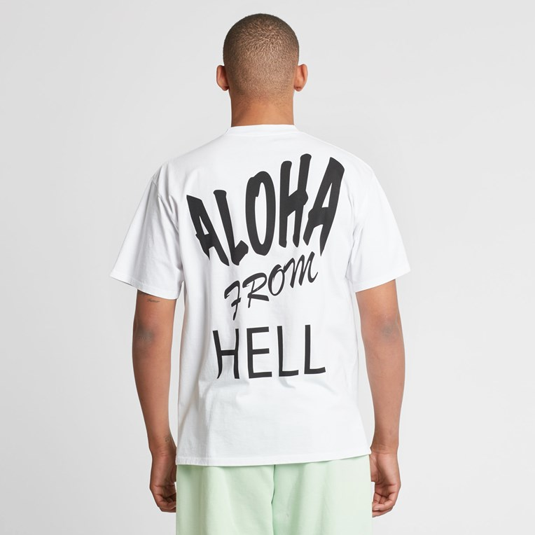 Aries Aloha From Hell Basic Short Sleeve T - 8