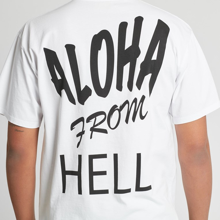 Aries Aloha From Hell Basic Short Sleeve T - 9