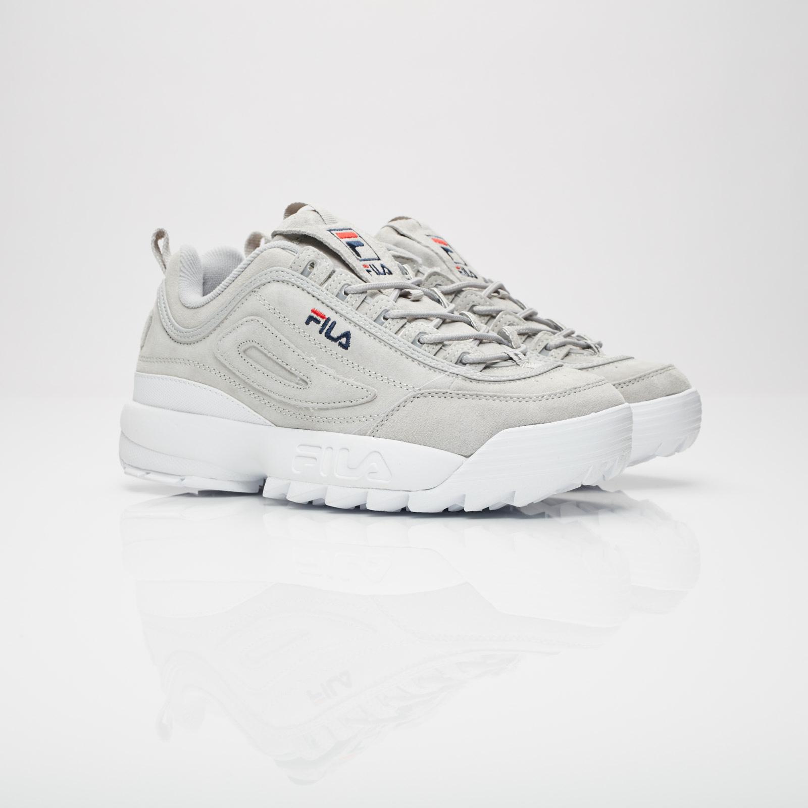 Fila Disruptor II Premium Suede - 5fm00038-063 - Sneakersnstuff ...
