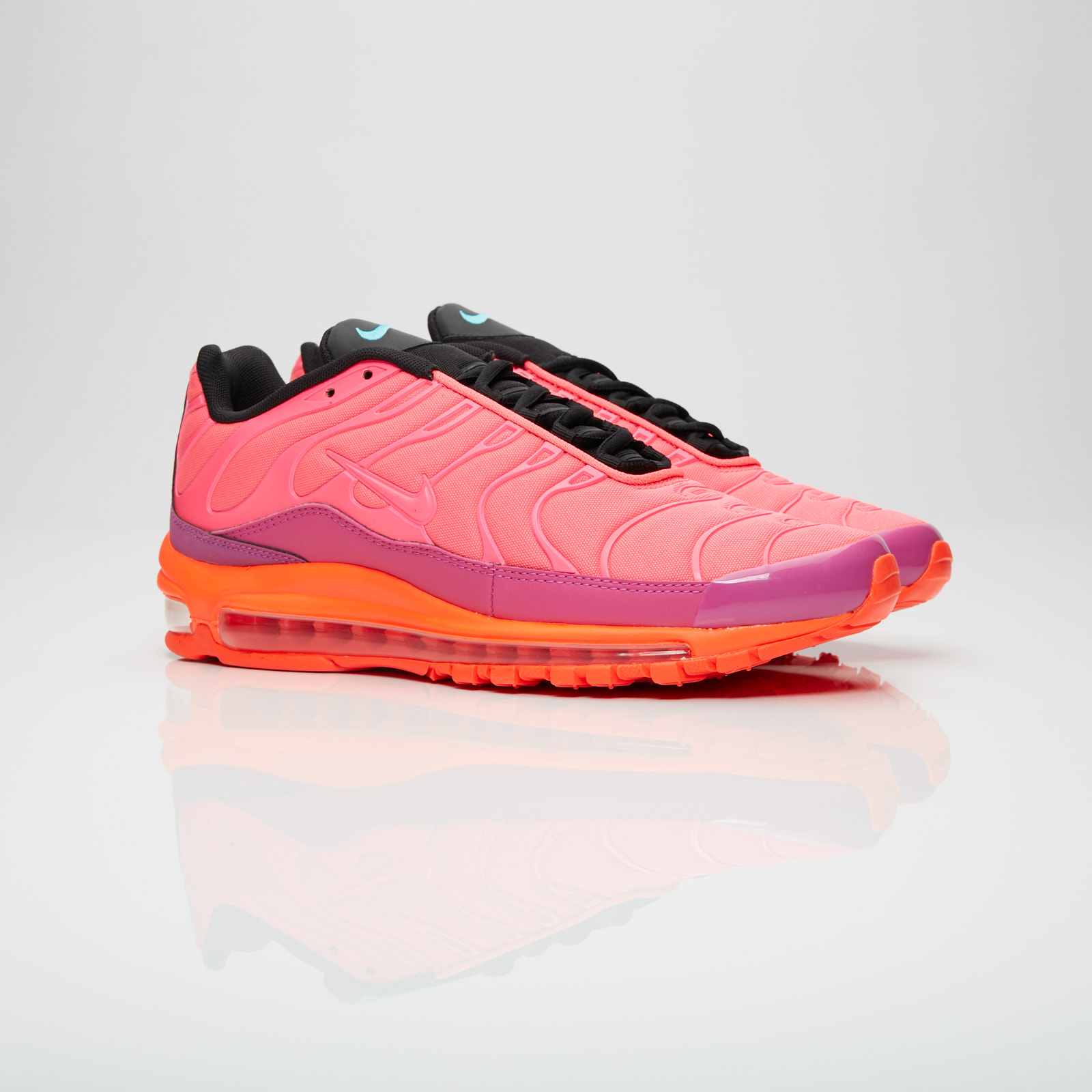 newest 740ab b00bc ... 3cf02216037f Nike Air Max 97 Plus - Ah8144-600 - Sneakersnstuff ...