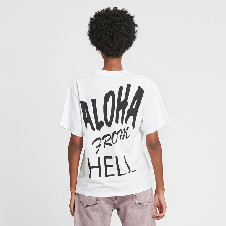 Aries Aloha From Hell Basic Short Sleeve T - 3