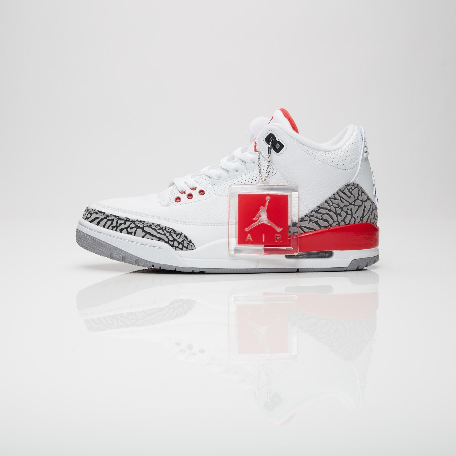 59d8975f78a500 Jordan Brand Air Jordan 3 Retro - 136064-116 - Sneakersnstuff ...