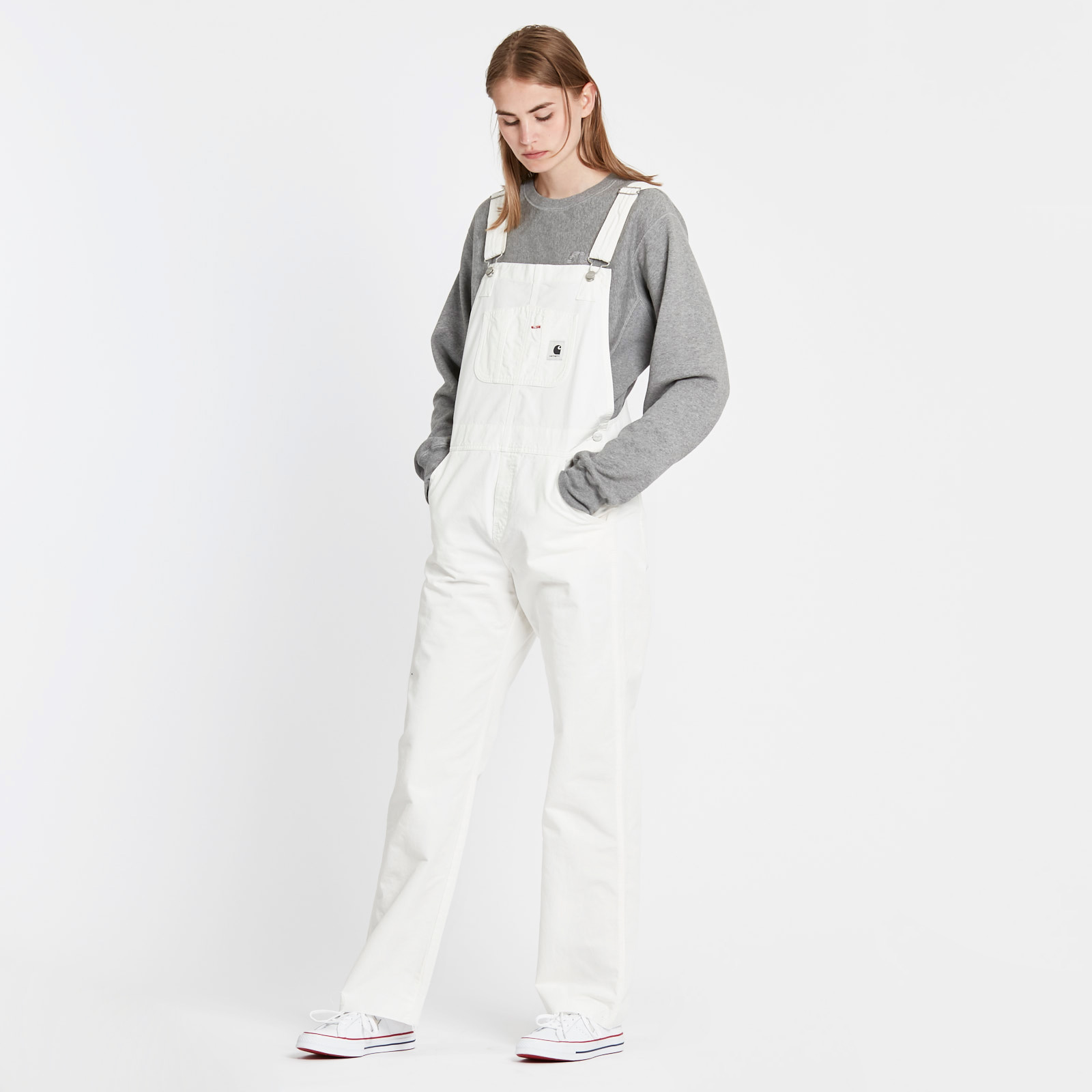 best shoes new product cheap Carhartt WIP Wmns Bib Overall Straight-R.E. - I025051.350.gd ...