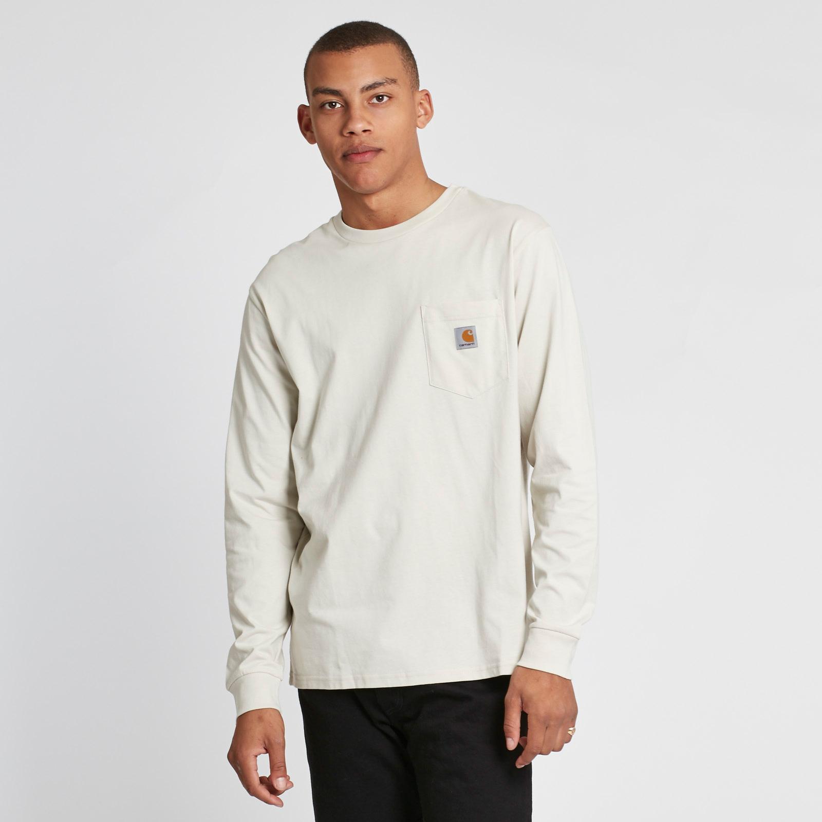 03284d95 Carhartt WIP L/S Pocket T-Shirt - I022094.961.00.03 - Sneakersnstuff ...