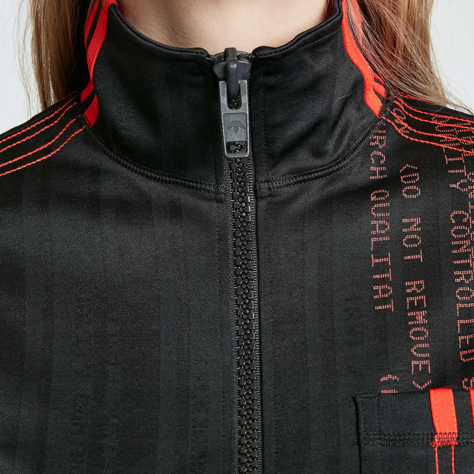 adidas Crop Track Top x Alexander Wang Dm9685