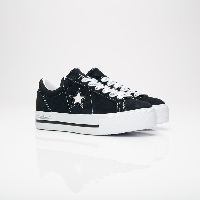 Converse One Star Platform x MadeMe