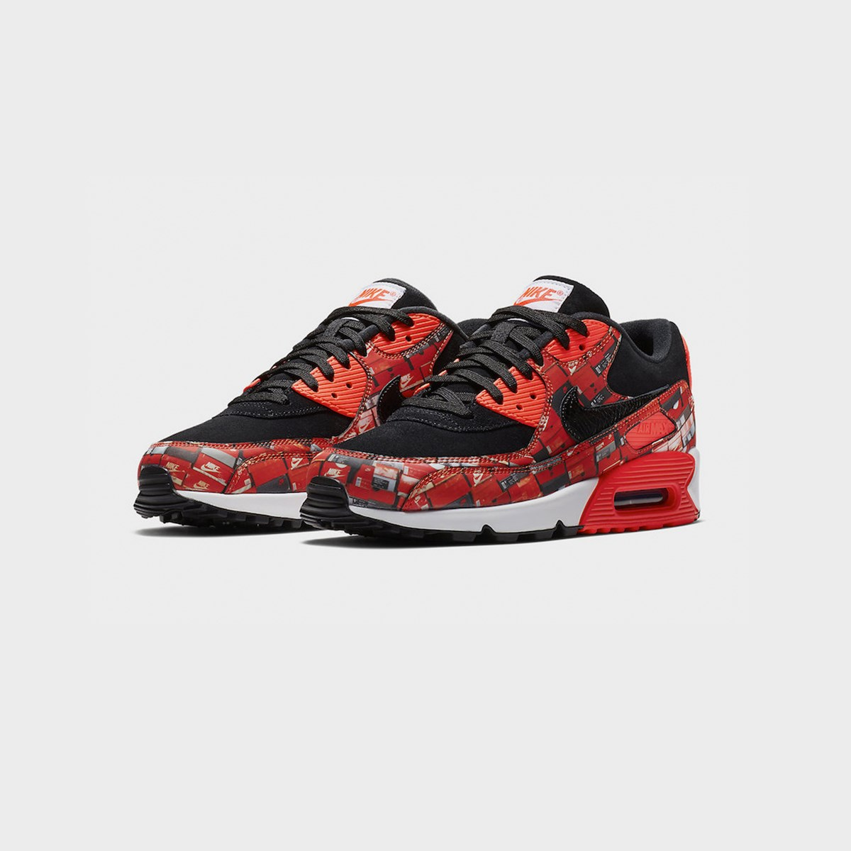 newest 40229 a3fb1 nike air max 90 print aq0926 001 sneakers   streetwear på nätet sen 1999