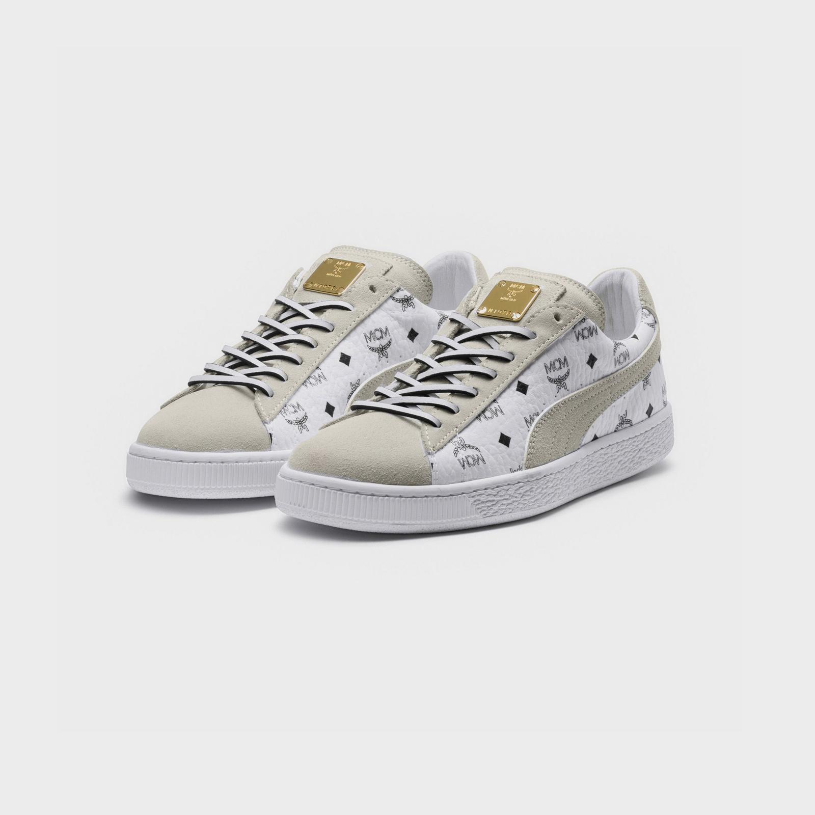 048cb43d7bb054 Puma Suede Classic x MCM - 366299-02 - Sneakersnstuff