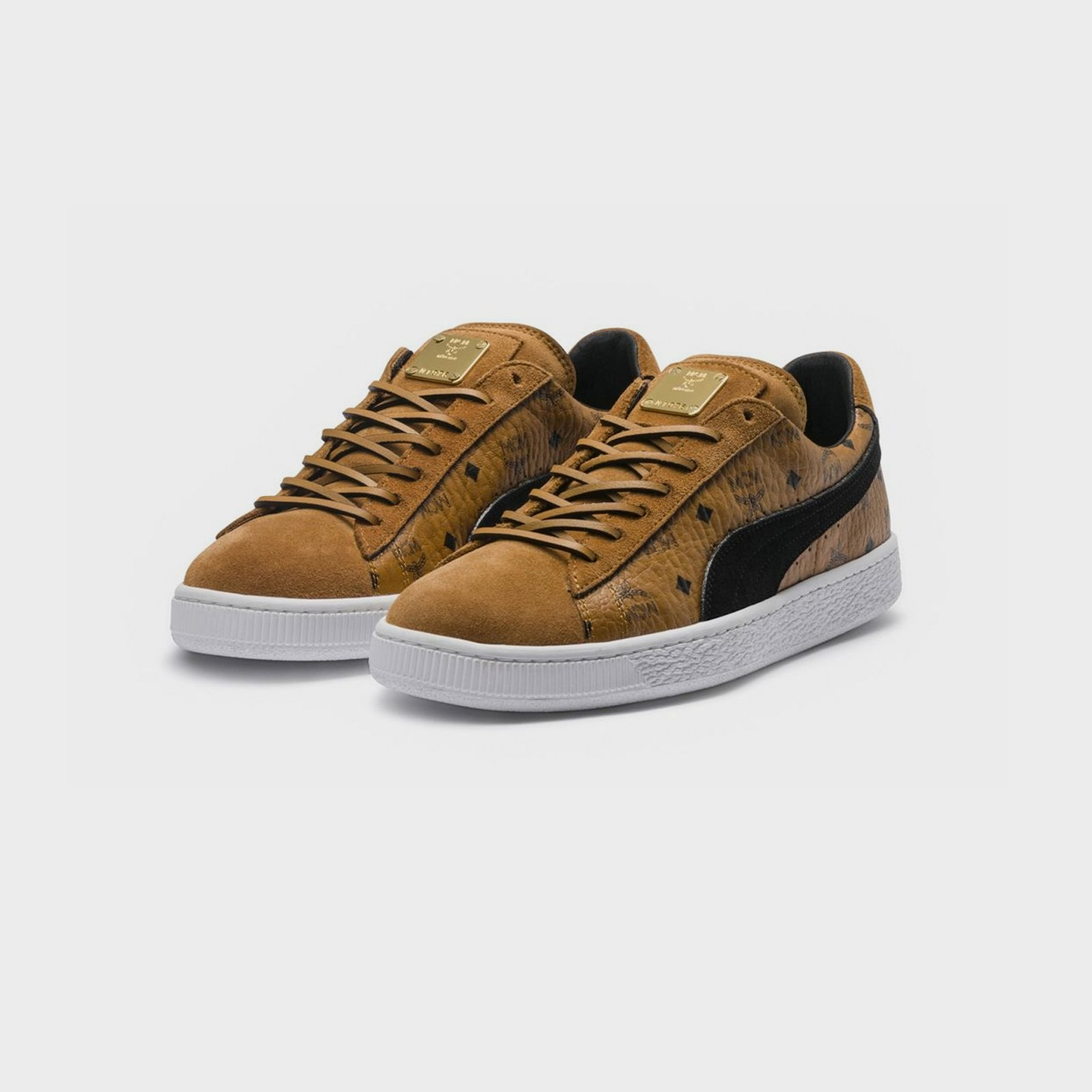 Puma Suede Classic x MCM 366299 01 Sneakersnstuff I
