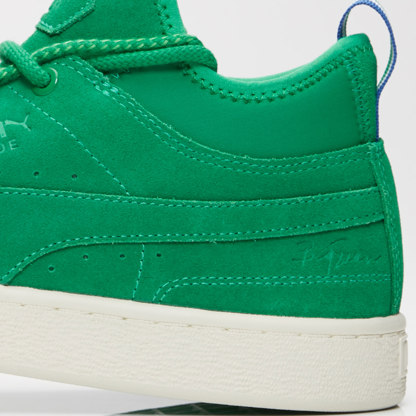 huge selection of 6e083 93321 puma suede mid green Puma Suede Mid x Big Sean - 366252-02 - Sneakersnstuff    sneakers .