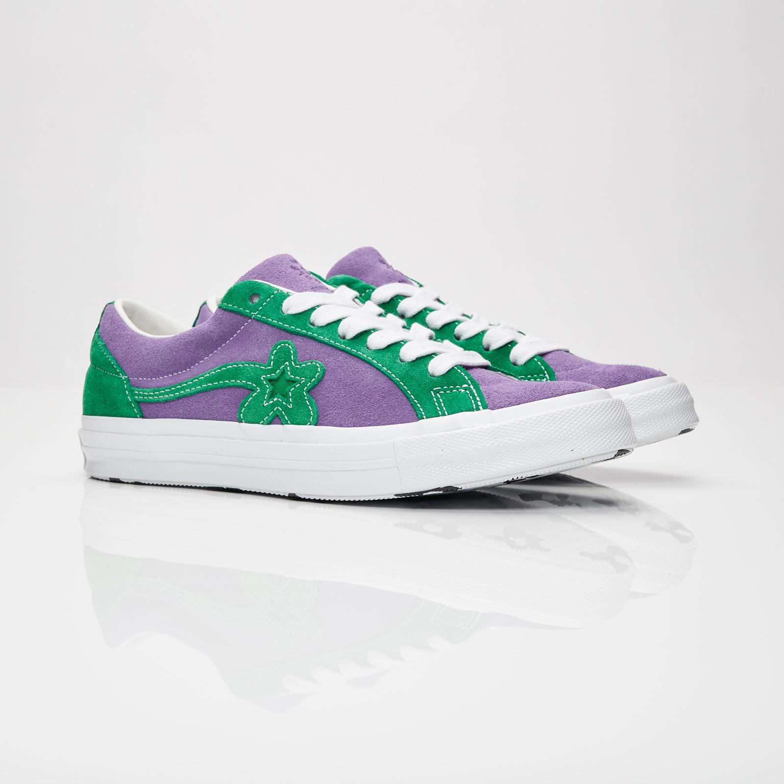 40fe880ea74 Converse One Star x Golf Le Fleur - 162128c - Sneakersnstuff ...