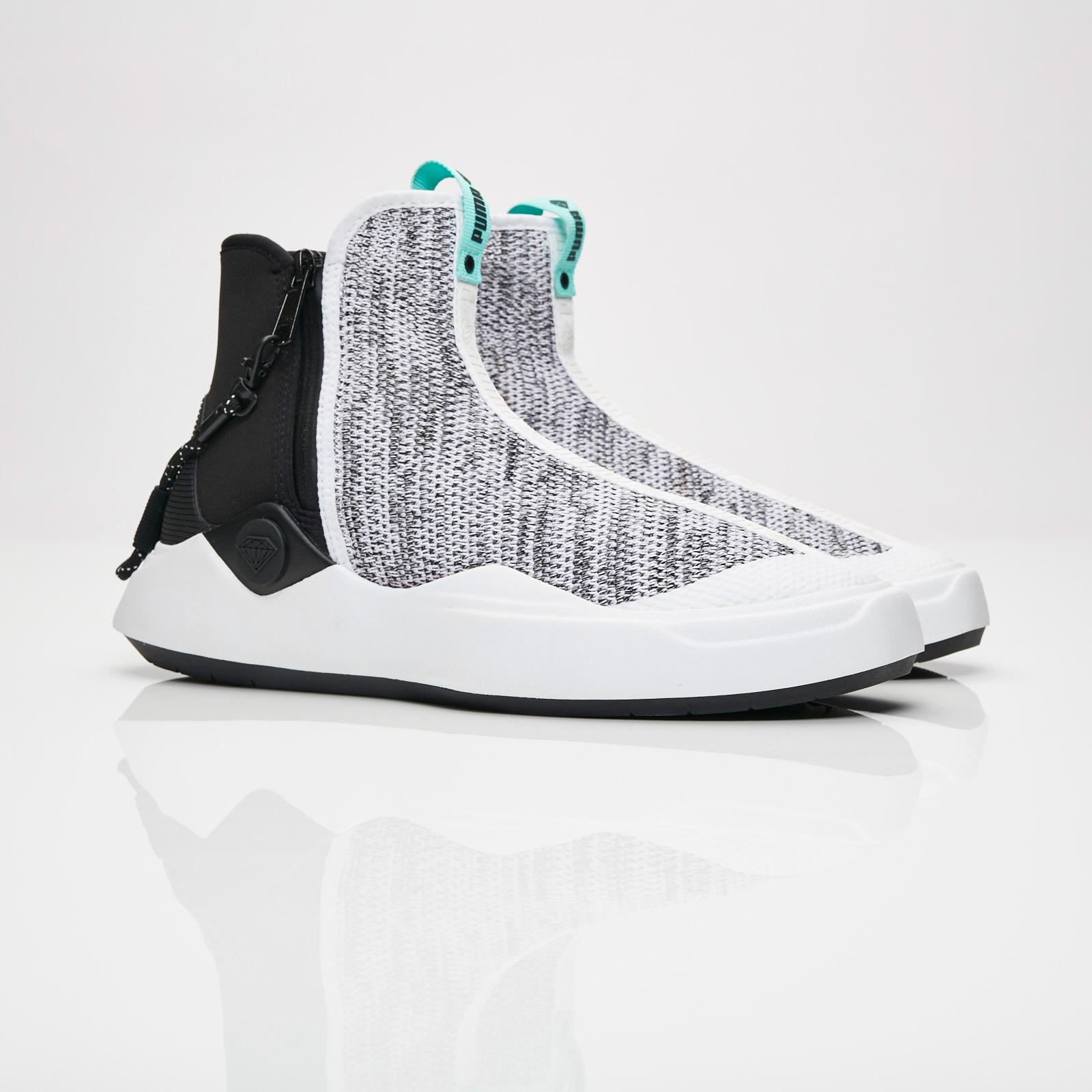 100% authentique fb317 562fe Puma Abyss Knit DIAMOND - 366493-01 - Sneakersnstuff ...