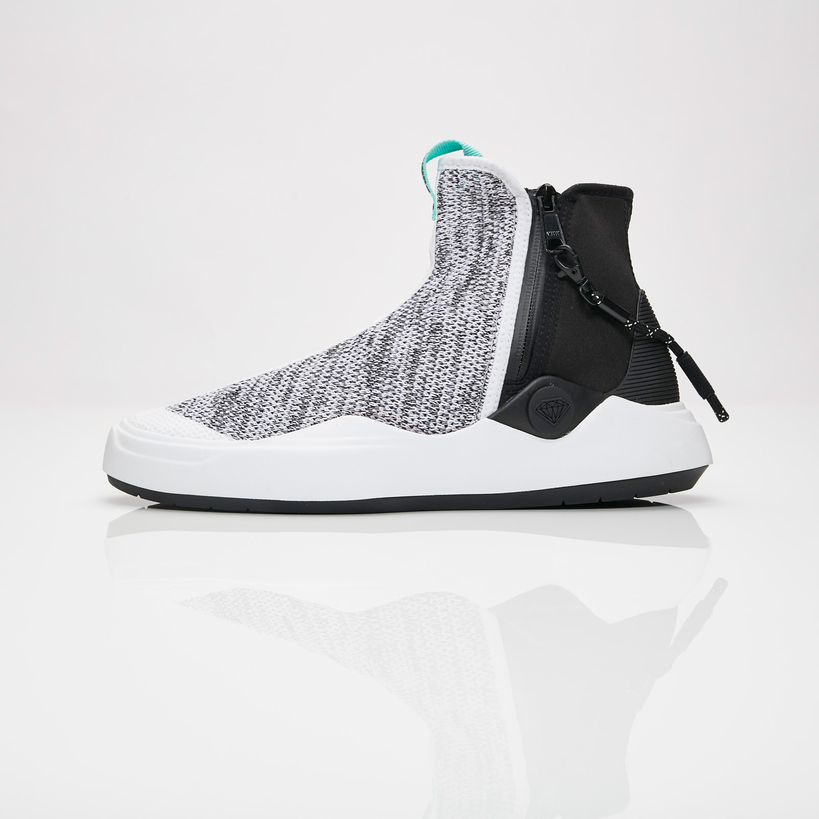 skate shoes real deal select for official Puma Abyss Knit DIAMOND - 366493-01 - Sneakersnstuff ...