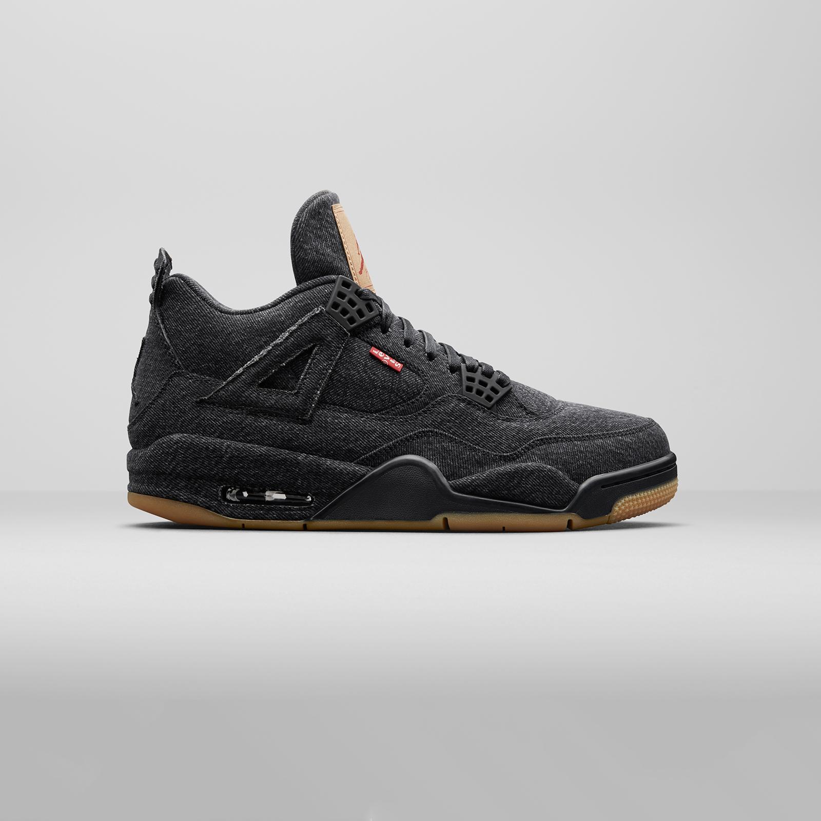 a318418f337 Jordan Brand Air Jordan 4 Retro Levis NRG - Ao2571-001 ...