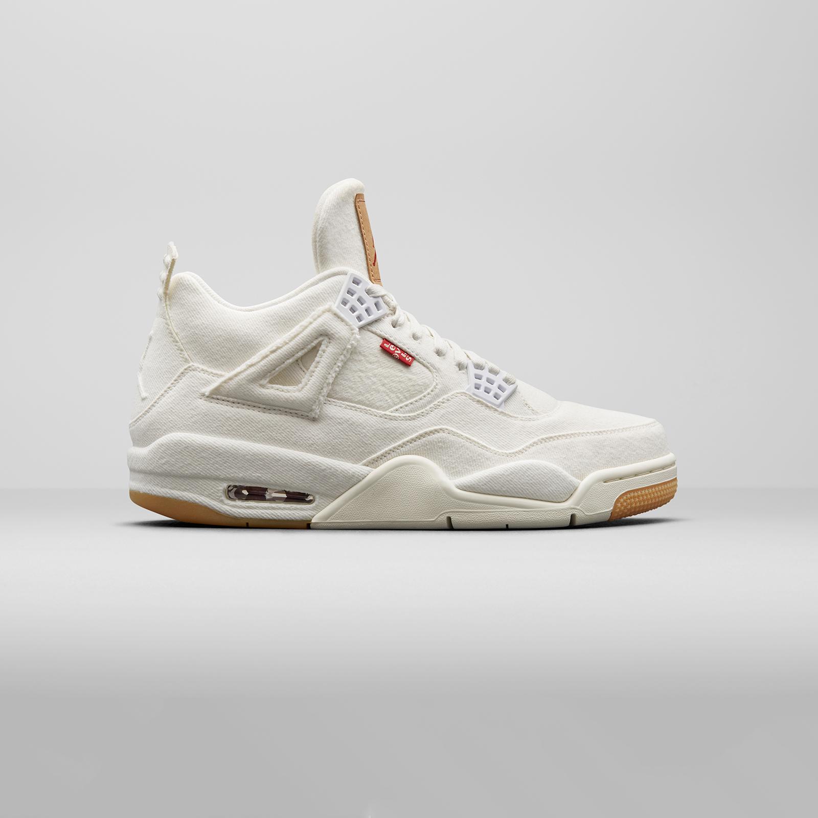 ee815cfec4245 Jordan Brand Air Jordan 4 Retro Levis NRG - Ao2571-100 ...