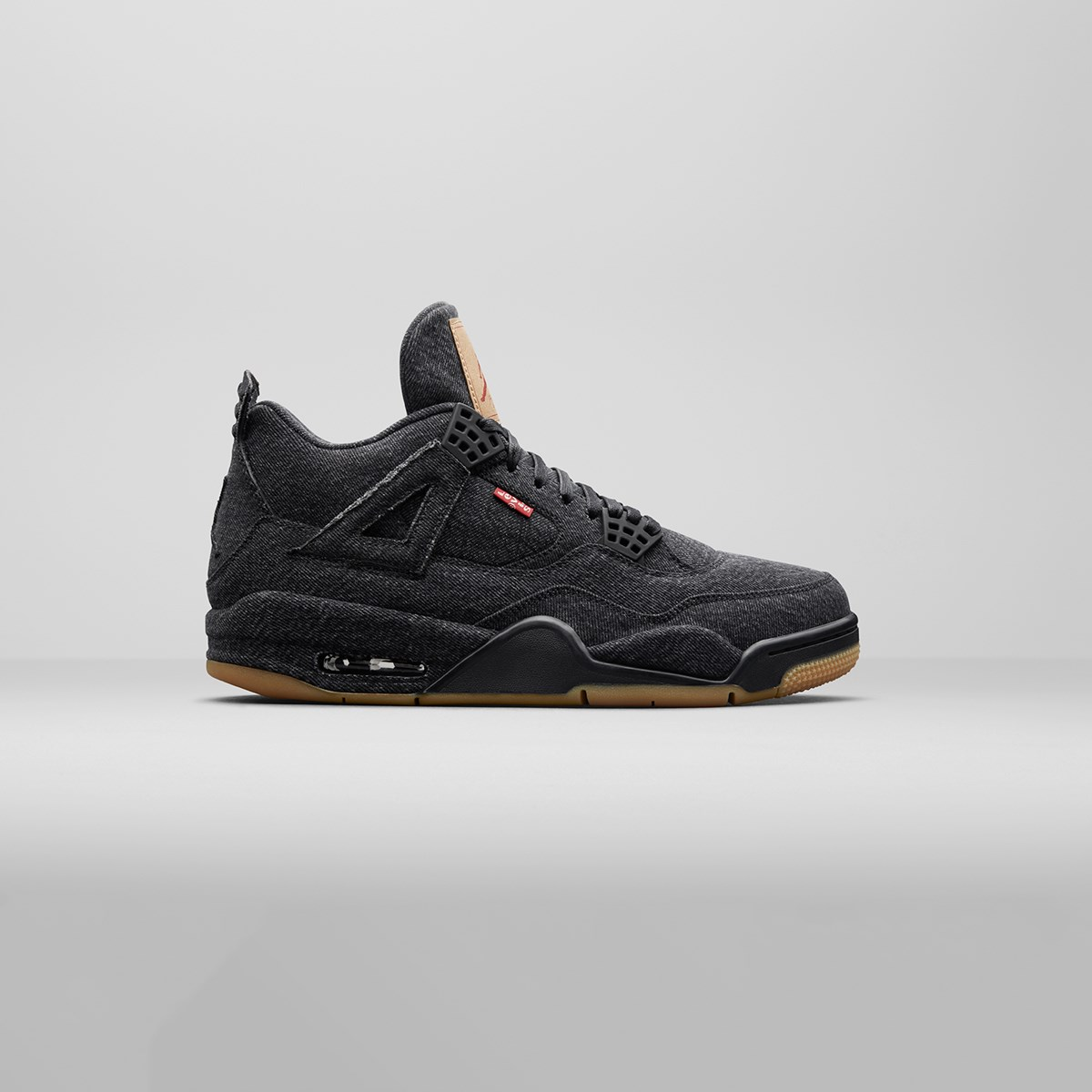 brand new ce0c6 f9f86 jordan brand air 4 retro levis nrg gs aq9103 001 sneakers   streetwear på  nät
