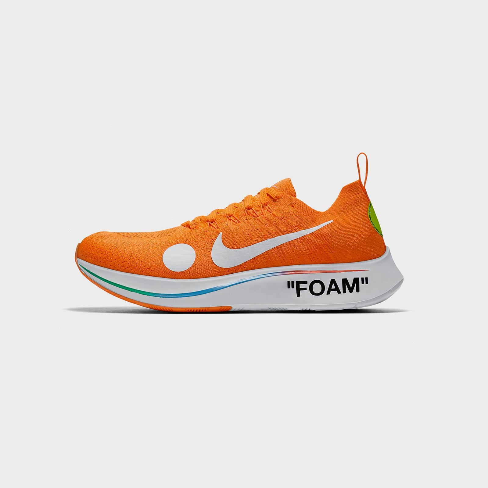 nike running shoes off white
