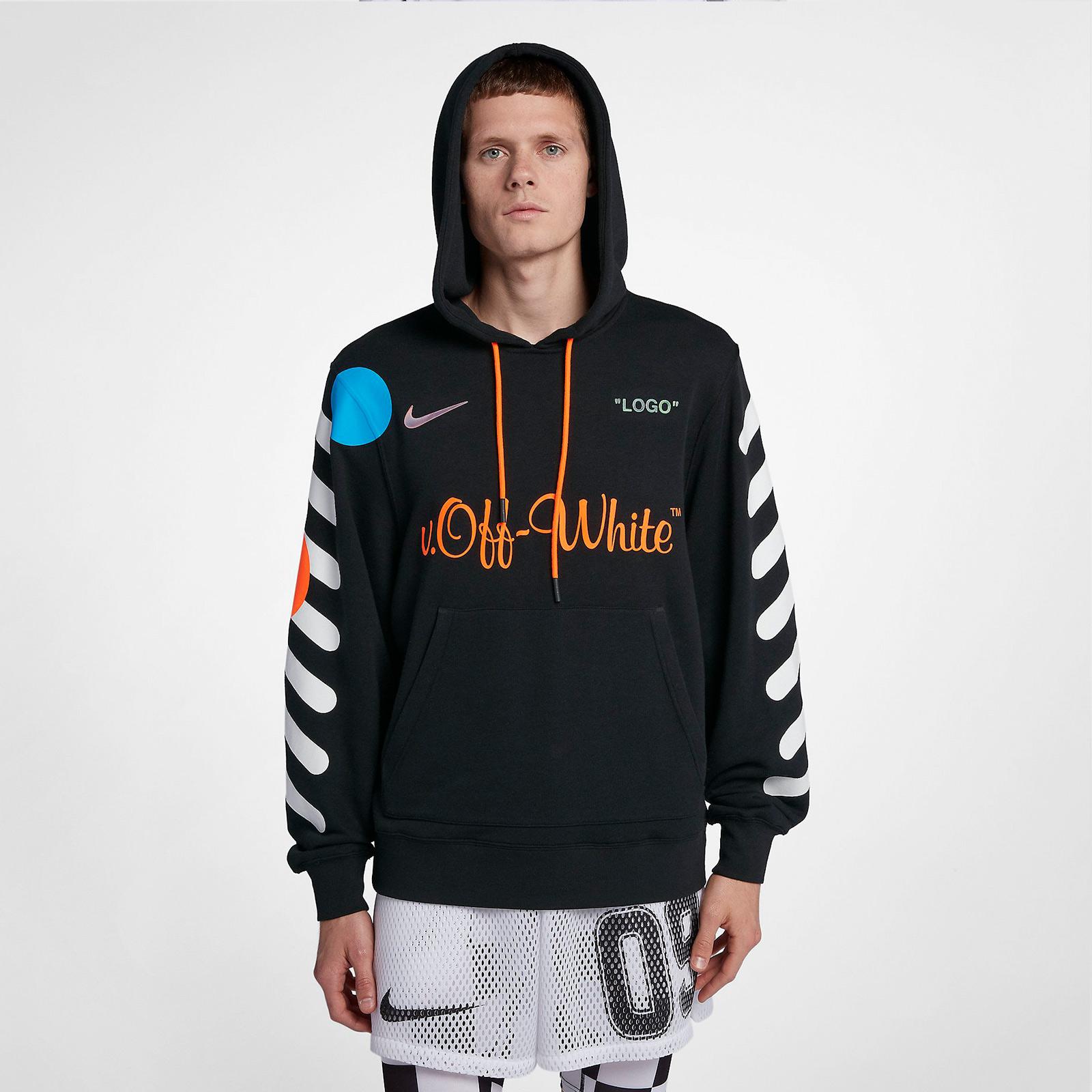 06fce391 Nike NRG X OW PO HOODIE - Aa3257-010 - Sneakersnstuff | sneakers ...
