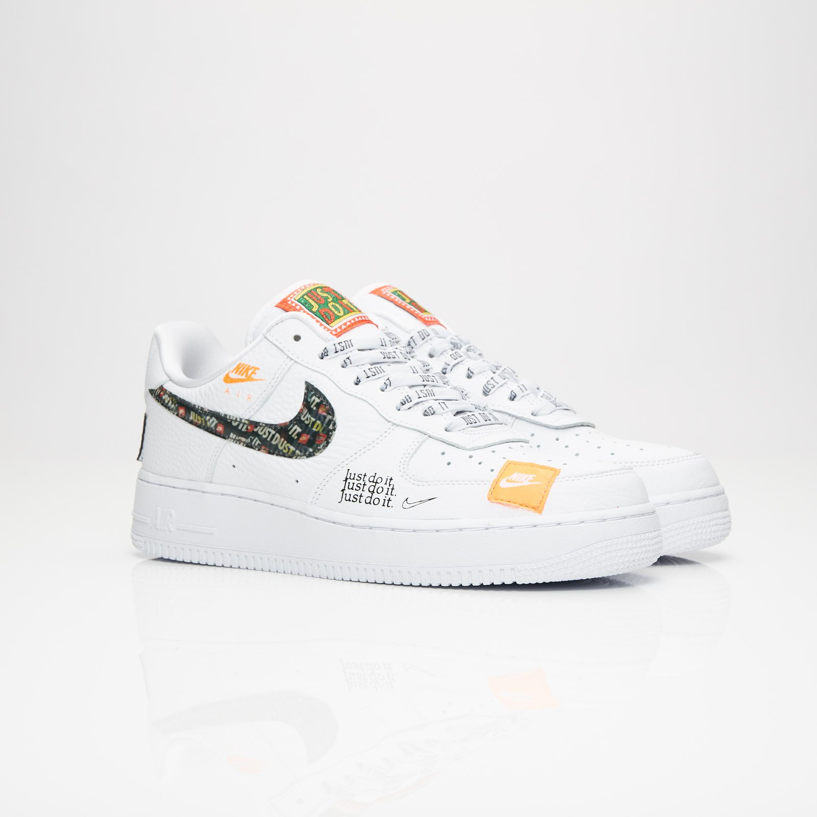 Nike Air Force 1 07 Premium Just Do It - Ar7719-100 - Sneakersnstuff ... bc0a9118c