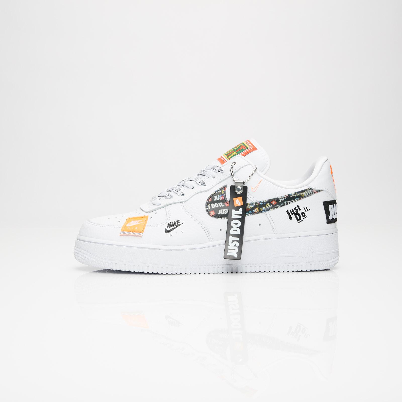 promo code 16a0b 9c4d7 Nike Air Force 1 07 Premium Just Do It - Ar7719-100 - Sneakersnstuff |  sneakers & streetwear online since 1999