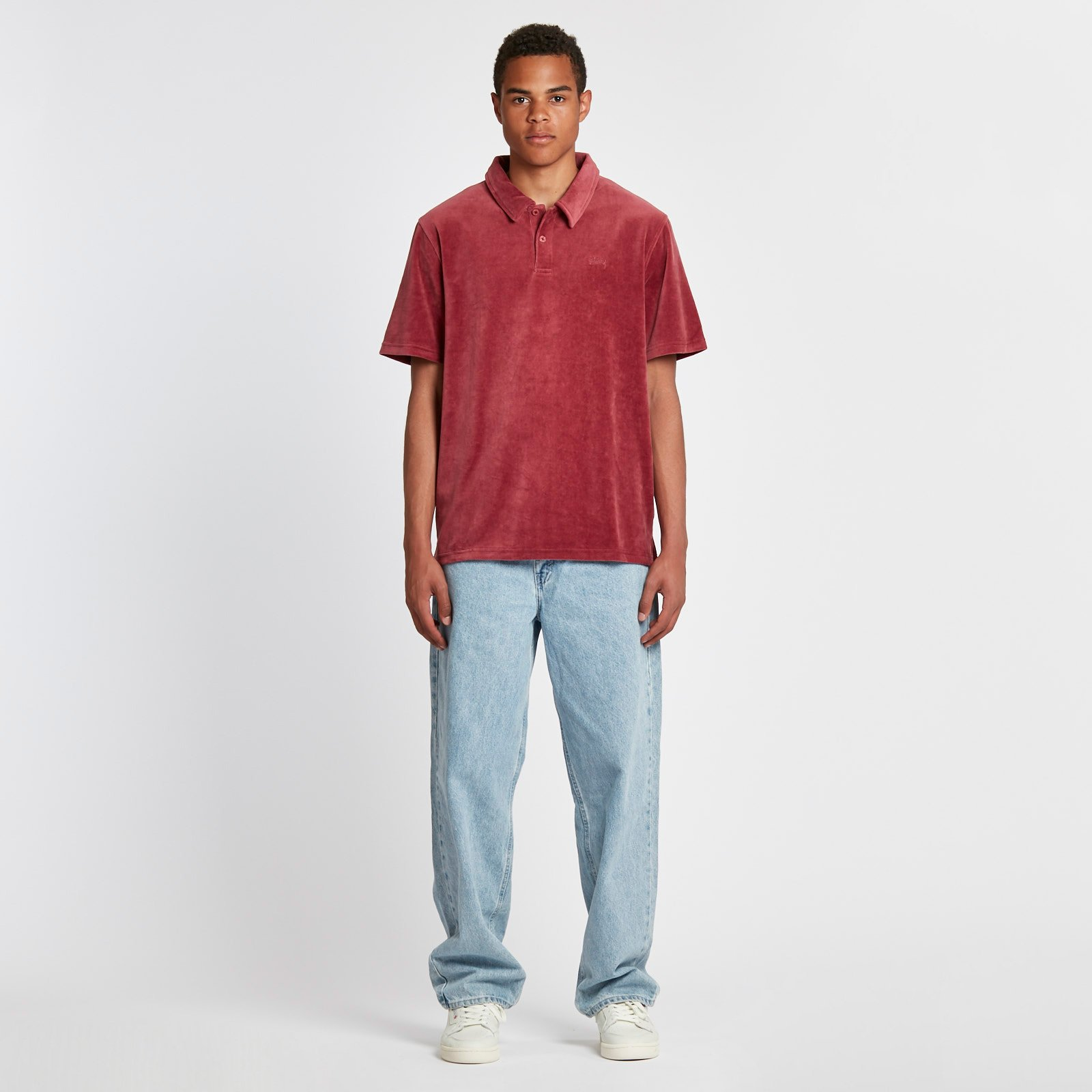 1834a509f3 Stussy Victor Polo - 1140075-1017 - Sneakersnstuff | sneakers ...