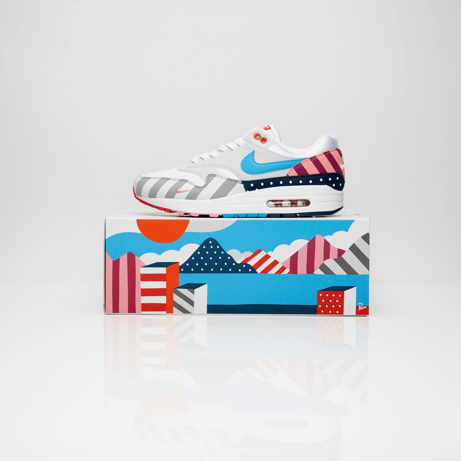 af1773cf Nike Air Max 1 Parra - At3057-100 - Sneakersnstuff | sneakers ...