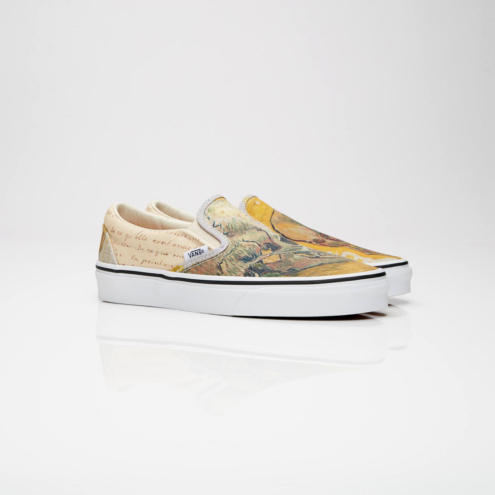 Vans Vincent Van Gogh Slip On Va38f7u48 Sns Sneakers Streetwear Online Since 1999