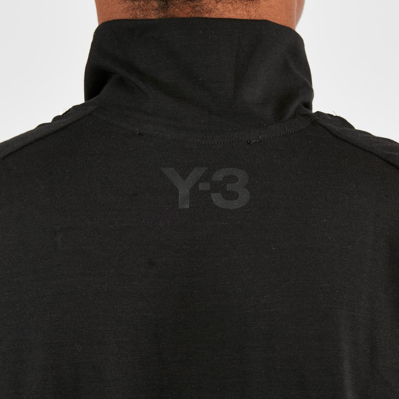 8ccc3c7e4ad9a adidas Y-3 3-Stripes High Neck LS Tee - Dp0482 - Sneakersnstuff ...