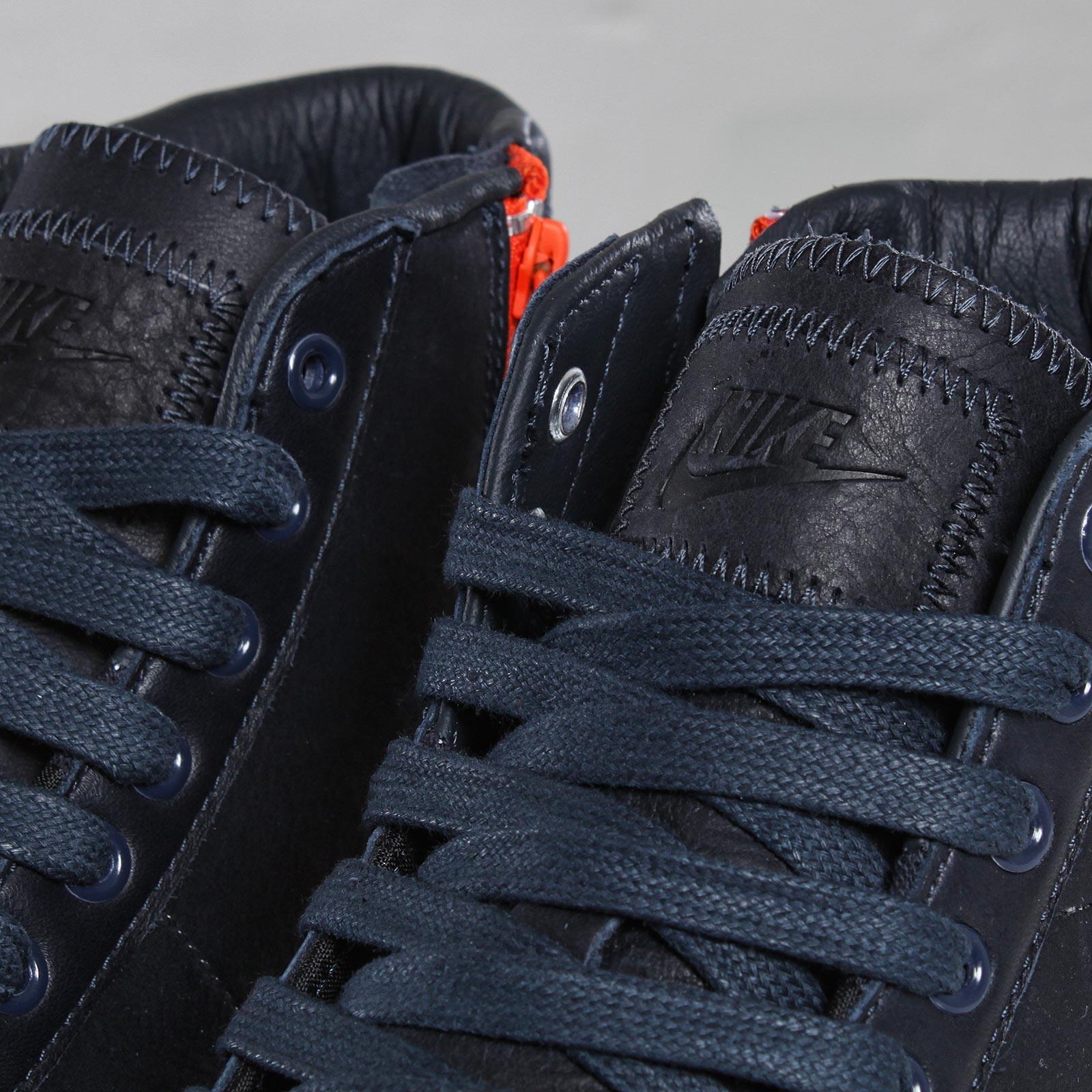 premium selection 380b9 a344a nike blazer mid ab tz dark obsidian safety orange