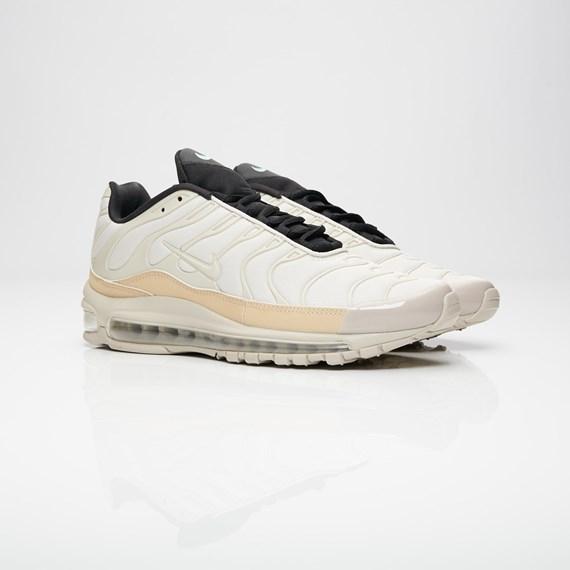 reputable site 65285 943ec ... White Metallic Silver Shark Midnight Navy. Nike Air Max 97 Plus Ah8144  101 Sneakersnstuff Sneakers