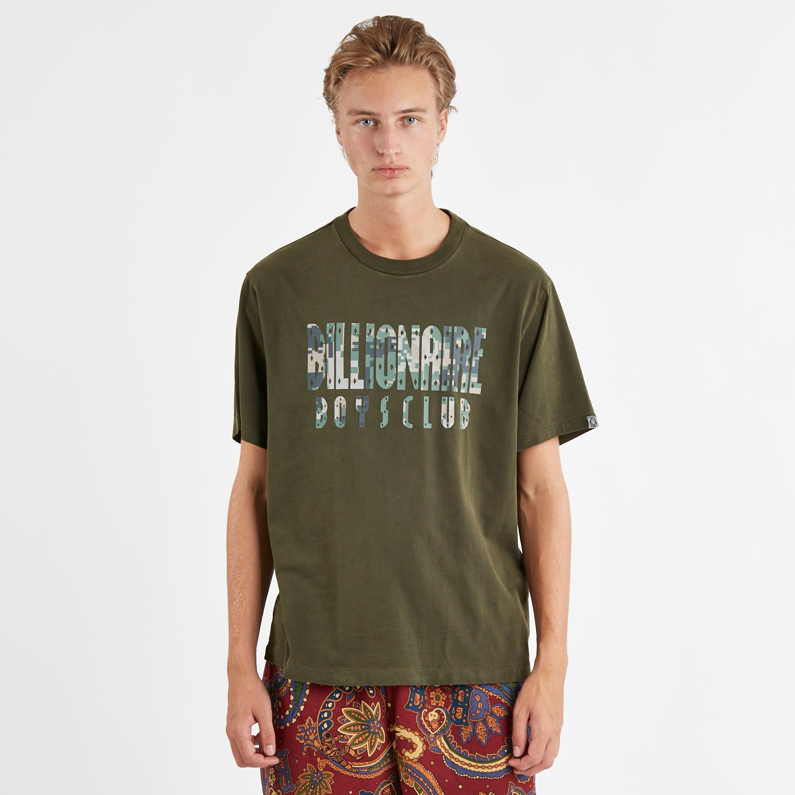 d1ac3a641 Billionaire Boys Club Overdye Digi Camo T-Shirt - B18339olive ...