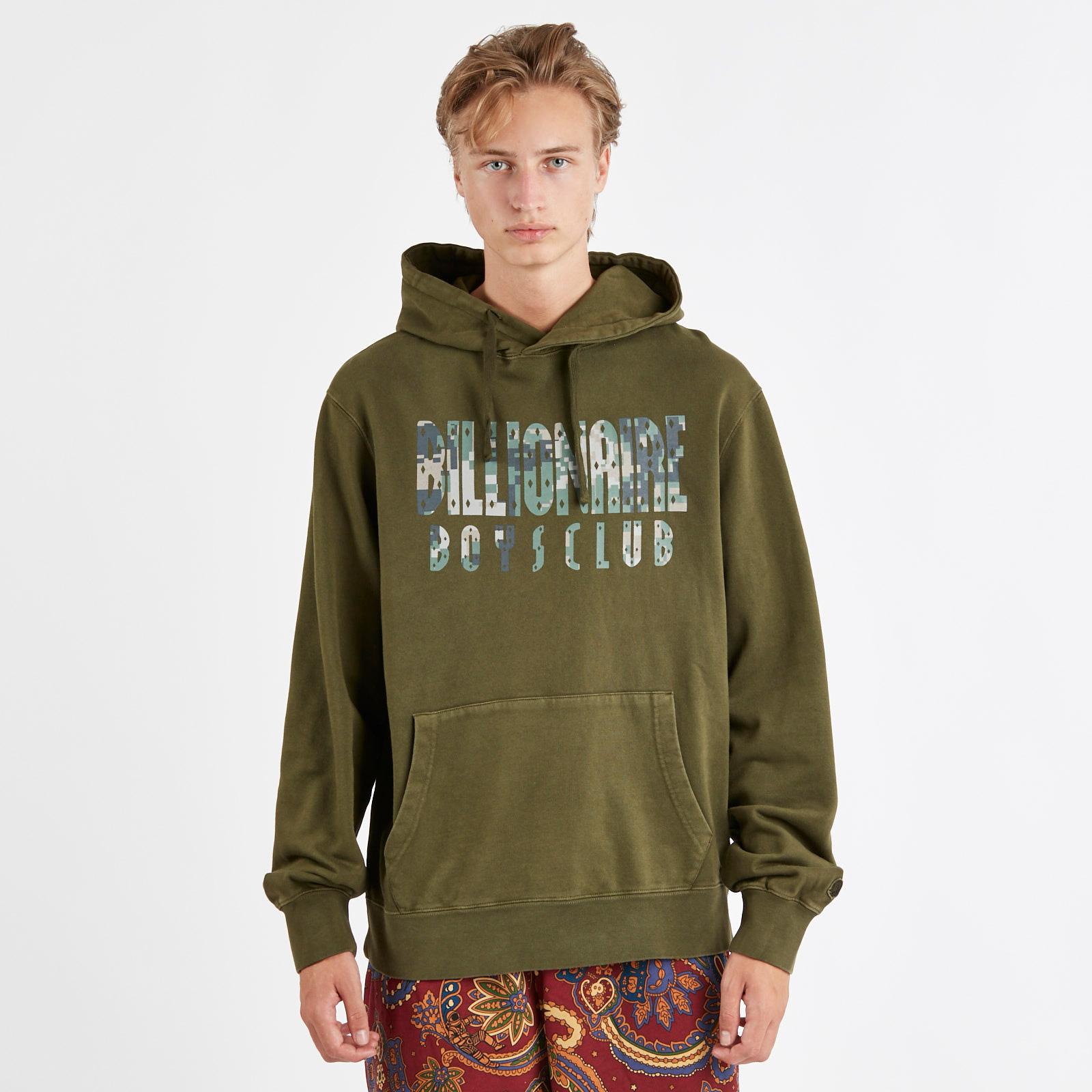 82147239d Billionaire Boys Club Overdye Digi Camo Popover Hood - B18337olive ...