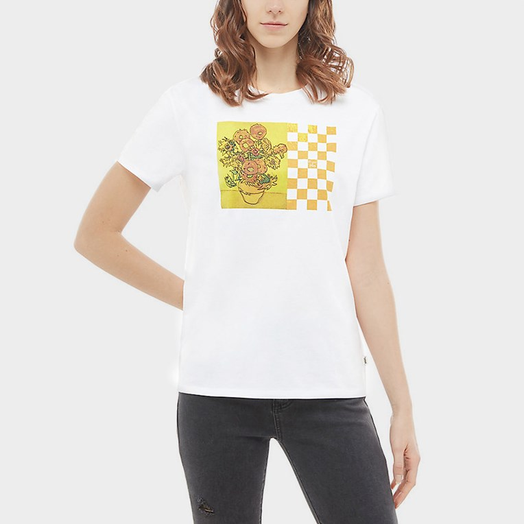 Vans Sunflower Boyfriend Tee