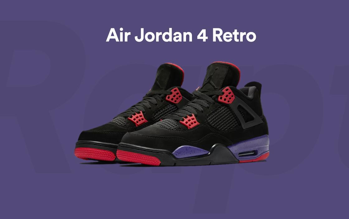 Air Jordan 4 Retro NRG ´Raptors` Raffle