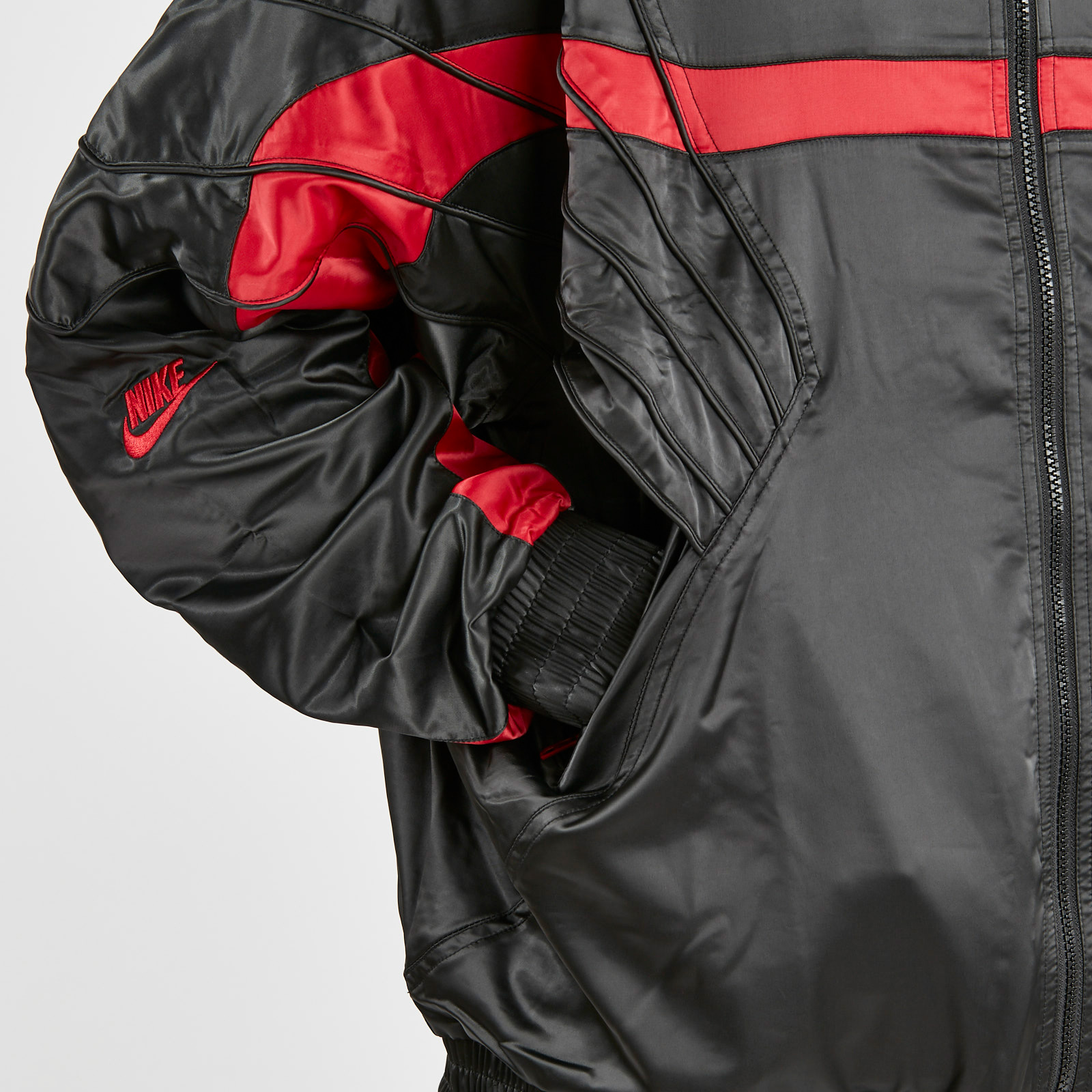 super cheap compares to official site select for newest Jordan Brand AJ5 Satin Jacket - Ar3130-010 - Sneakersnstuff ...