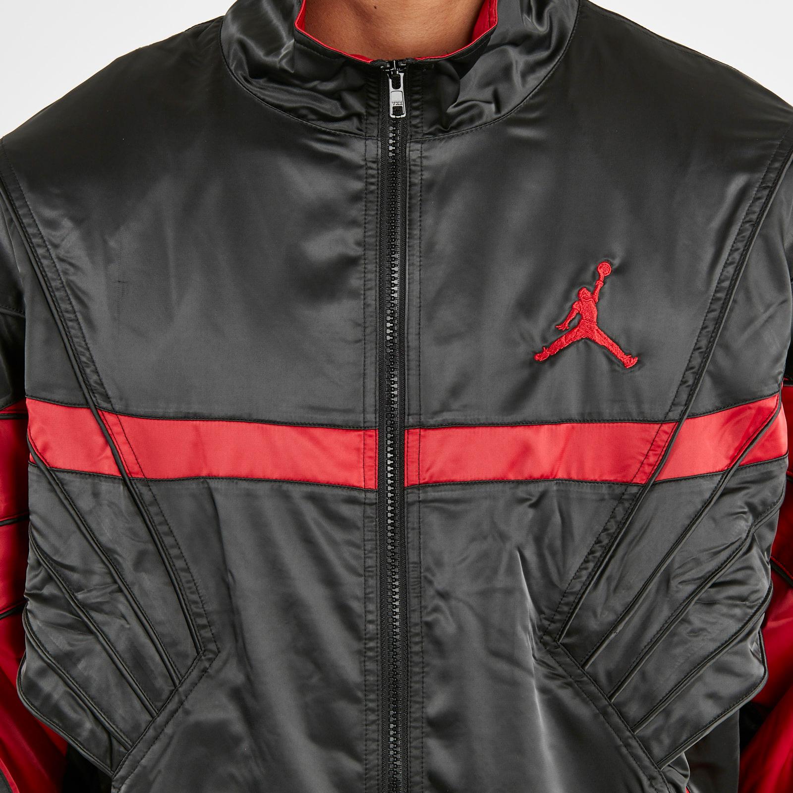 fe0a8510bc158b Jordan Brand AJ5 Satin Jacket - Ar3130-010 - Sneakersnstuff ...