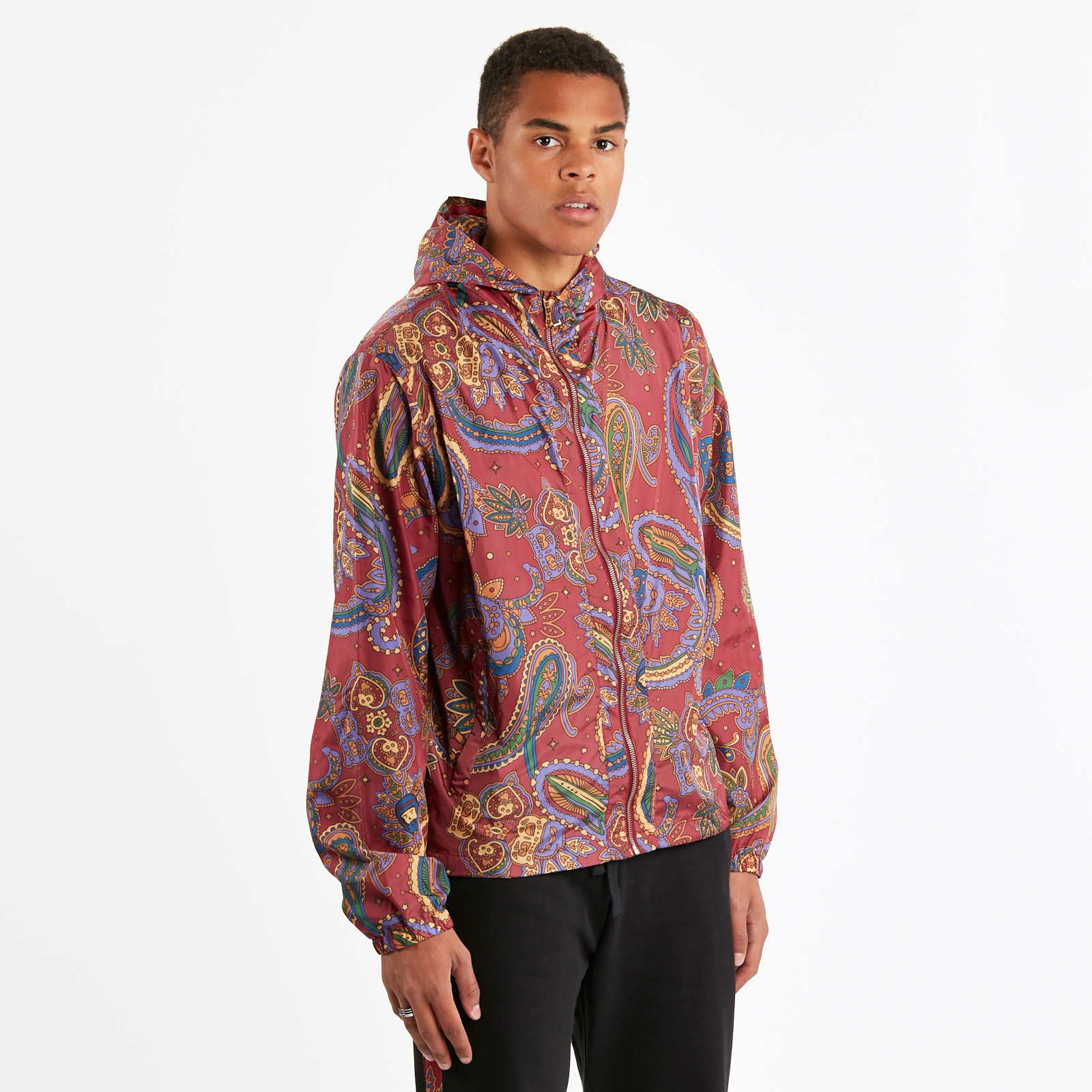 2f58e11d1 Billionaire Boys Club Paisley Nylon Jacket - B18308-red - Sneakersnstuff |  sneakers & streetwear online since 1999