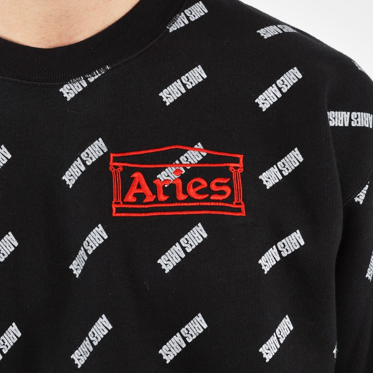 Aries Crew Sweat Arise Allover - 8