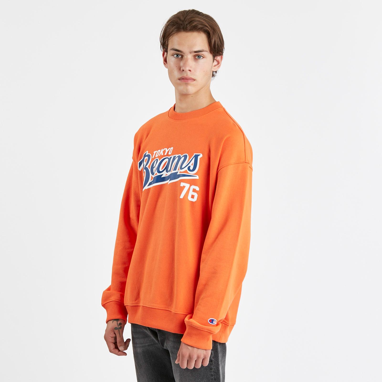 18416051 Champion Reverse Weave Terry Crew x BEAMS - 212627-os021 - Sneakersnstuff I  Sneakers & Streetwear online seit 1999
