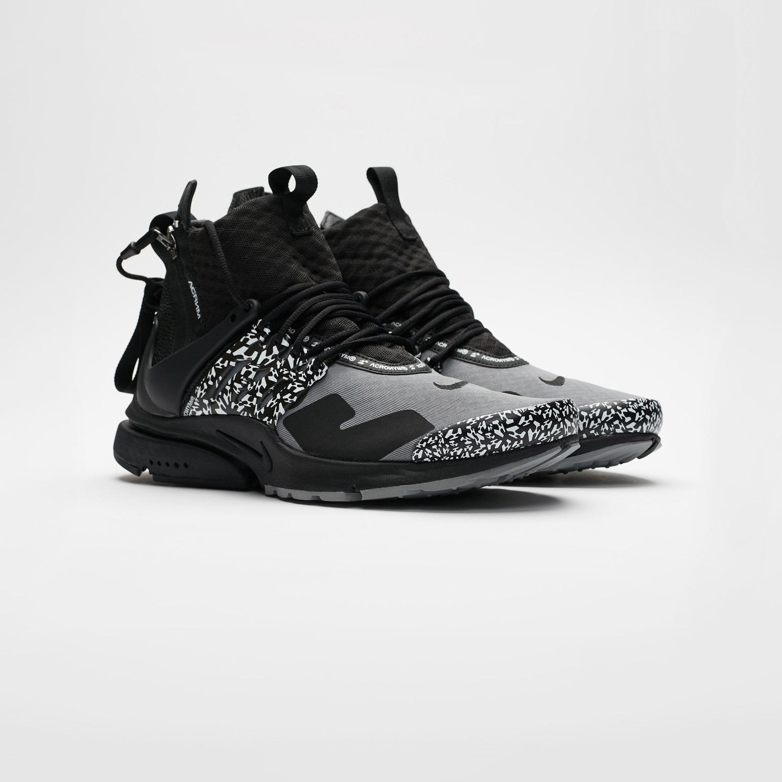 bca26dd47f02 Nike Air Presto Mid x Acronym - Ah7832-001 - Sneakersnstuff ...