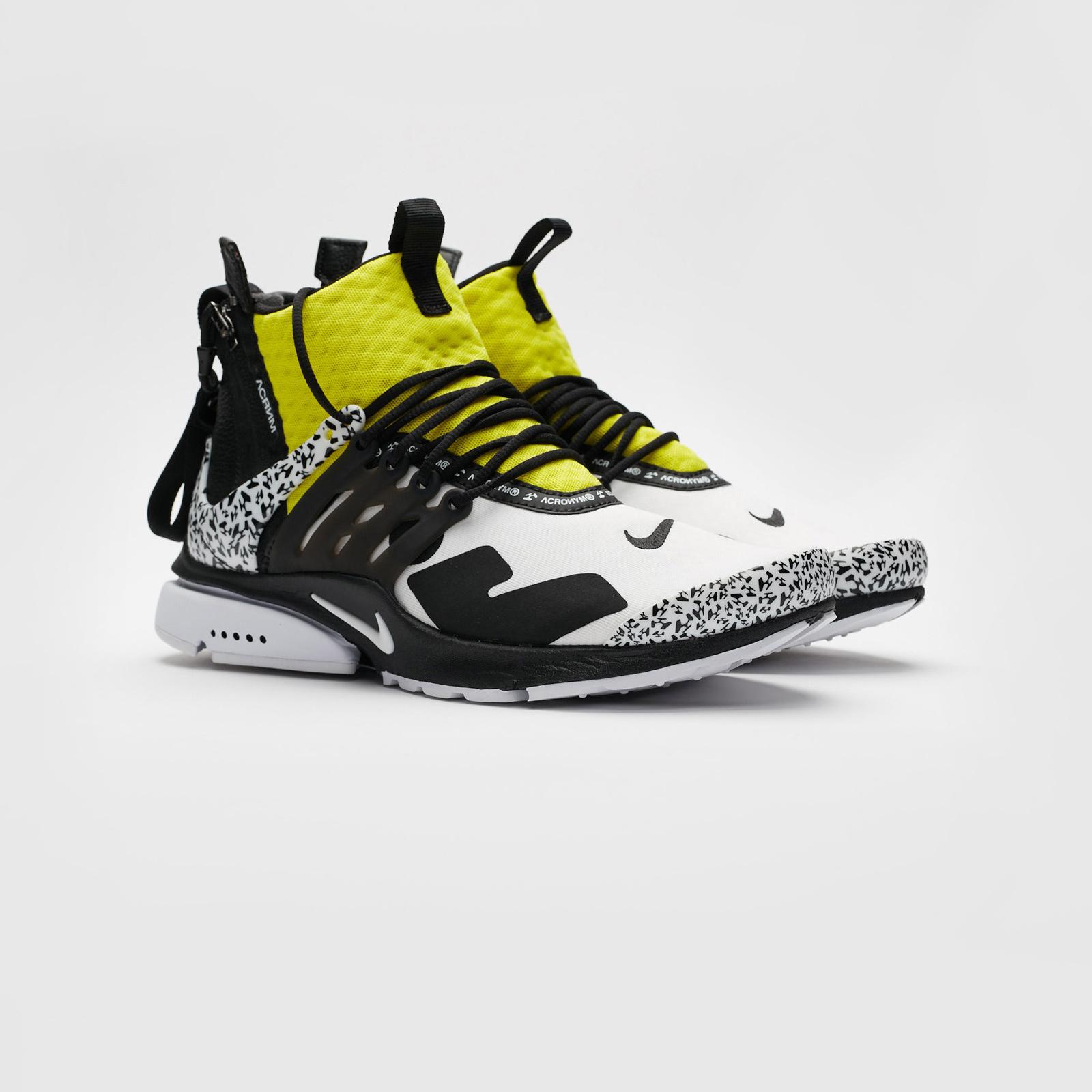 6030f8a479fec3 Nike Air Presto Mid x Acronym - Ah7832-100 - Sneakersnstuff ...